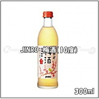 Korea, JINRO plum wine (ABV 10%) content volume 300 ml