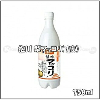 750 ml of quantity of Korea, 7% of reveal river (ポチョン) pear マッコリ alcohol frequency, contents