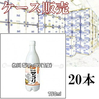 By buying in bulk deals! Pocheon PEAR makgeolli (ABV 7%) 750ml×20 book