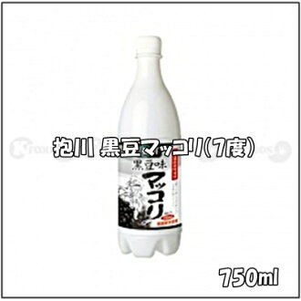 750 ml of quantity of Korea, 7% of reveal river (ポチョン) black soybean マッコリ alcohol frequency, contents