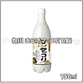750 ml of quantity of Korea, 7% of reveal river (ポチョン) scorched part マッコリ alcohol frequency, contents