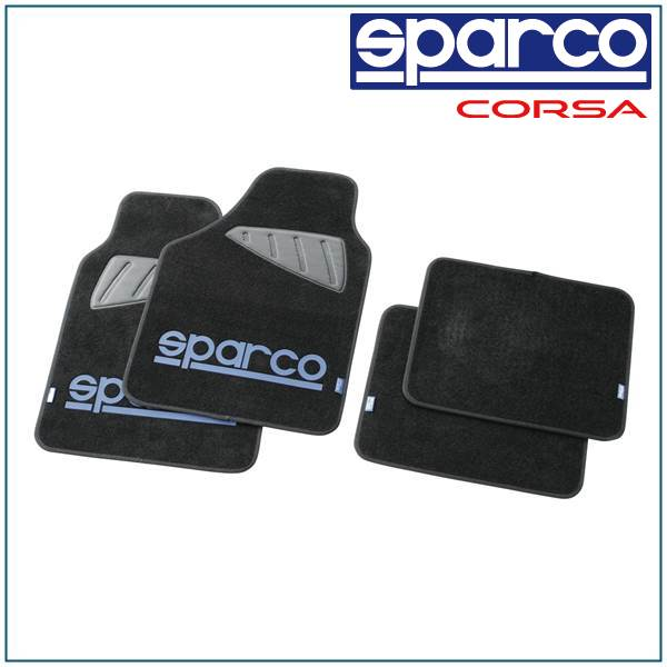 スパルコ, sparco/SPC, floor mat blue 4PC SPC1901