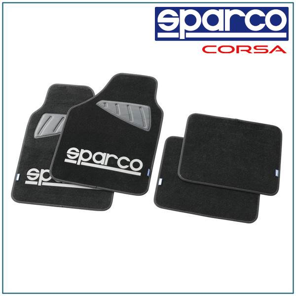 スパルコ, sparco/SPC, floor mat gray 4PC SPC1902