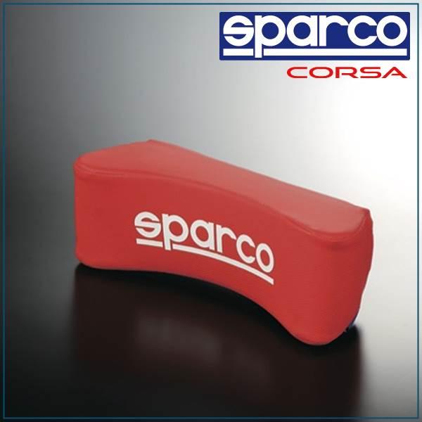 Sparco, SPARCO CORSA & neck pillow red SPC4007