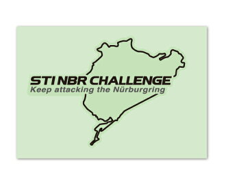STI sticker LABEL NBR CHALLENGE A (black)