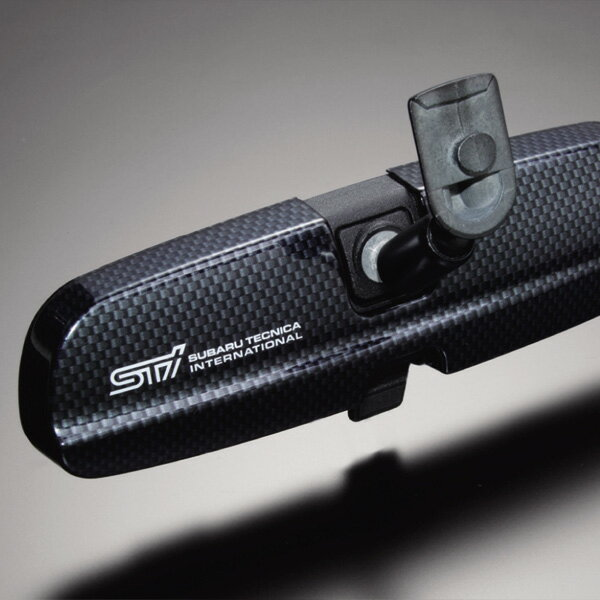 STI room mirror shield (compact car use) Legacy :BE/BH インプレッサ: GD/GG, GR/GV Forrester: SH エクシーガ: YA STSG05100230