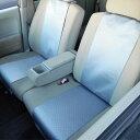 シートヒーター機能つきシートカバー シートエプロン 2席分 12Vシガー電源