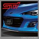 STI フロント アンダースポイラー 送料無料 BRZ フロントアンダースポイラー フロントスポイラー エアロパーツ スバル カー用品 車用品 SG517CA110 CARAZ JPN