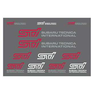 STI sticker (transfer type) STSG12100920