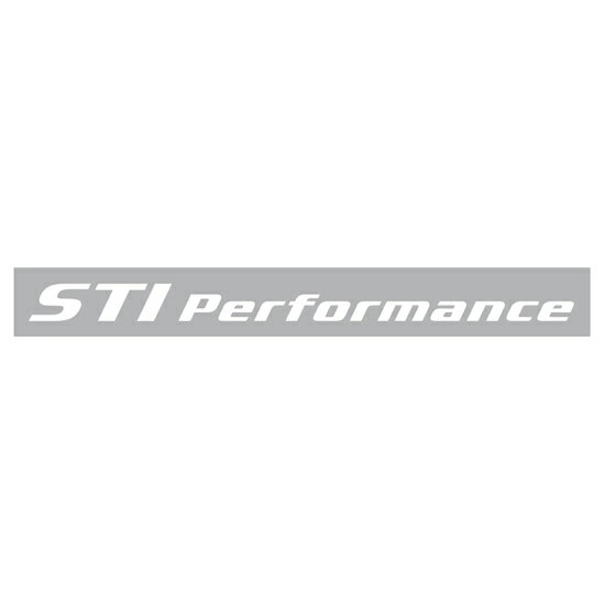STIPerformance sticker (white) STSG10100391