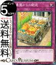 遊戯王カード 農園からの配送(ミレニアム仕様) 遊戯王チップスYCPC Yugioh 遊戯王 カード 通常罠 ミレニアム仕様