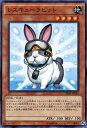 遊戯王カード レスキューラビット 恐獣の鼓動 (SR04) YuGiOh!