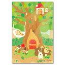 下間文恵・かわいいポストカード「木陰でおひるね」