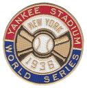 【ニューヨーク ヤンキース】 1936ワールドシリーズ優勝記念ロゴパッチ (New York Yankees) (MLB) (メジャーリーグベースボール) (World Series)
