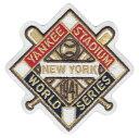 【ニューヨーク ヤンキース】 1941ワールドシリーズ優勝記念ロゴパッチ (New York Yankees) (MLB) (メジャーリーグベースボール) (World Series)