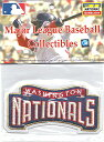ワシントン ナショナルズ チームロゴパッチ / Washington Nationals
