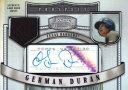 ハーマン・デュラン German Duran 2007 Bowman Sterling Prospect Refractor Autographed Jersey 199枚限定!