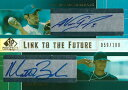 ノマー ガルシアパーラ / マット ブッシュ 2004 SP Prospects Link to The Future Dual Autographs 100枚限定!(059/100) / Nomar Garciaparra / Matt Bush