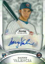 Danny Valencia 2010 Bowman Sterling Rookie Autographs Refractors 199枚限定!(161/199) / ダニー バレンシア