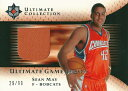 ショーン メイ NBAカード 2005/06 Ultimate Collection Jersey 99枚限定!(29/99) / Sean May
