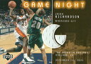 ジェイソン・リチャードソン NBAカード Jason Richardson 02/03 Upper Deck Game Night Jerseys