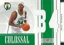 ポール・ピアース NBAカード Paul Pierce 09/10 Playoff National Treasures Colossal Materials Jersey Numbers 32/99