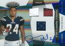 ライアン・マシューズ NFLカード Ryan Mathews 2010 Panini Certified Freshman Fabric Auto Mirror Blue 31/50