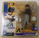 MLB マクファーレン シリーズ 6ルイス・ゴンザレス / Luis Gonzalez (ダイヤモンドバックス/ブラック)