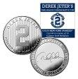 (セール)The Highland Mint (ハイランドミント) デレク・ジーター ファイナルシーズンコイン #4 (Derek Jeter Final Season New York Yankees Forever Coin)