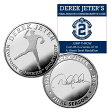(セール)The Highland Mint (ハイランドミント) デレク・ジーター ファイナルシーズンコイン #6 (Derek Jeter Final Season Jump Throw Coin)