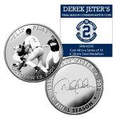 (セール)The Highland Mint (ハイランドミント) デレク・ジーター ファイナルシーズンコイン #8 (Derek Jeter Final Season Fan Vote Coin)