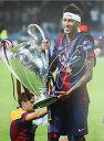 ネイマール Jr. 直筆サインフォト 2014-15 FC バルセロナ UEFAチャンピオンズリーグファイナルウィナー (Signed Neymar Jr. Barcelona Photo :UCL 2015 Final Winners) 8/25入荷!