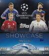 チャンピオンズリーグ 2015-16 Topps UEFA Champions League Showcase Soccer ボックス 3/23発売! 送料無料