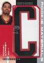 Rodney Carney 2006/07 Fleer Hot Prospects Rookie Materials Letter Patch Aitographs