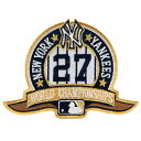 ニューヨークヤンキース27thワールドシリーズチャンピオンズ記念パッチ