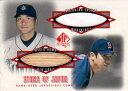 野茂英雄・佐々木主浩 2001 Upper Deck Sp Authentic Star of Japan Bat&Jersey Card Hideo Nomo・Kazuhiro Sasaki