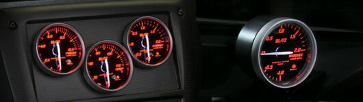 BLITZ [ブリッツ] レーシングメーターSD 19581RACING METER SD φ60 BOOST METER RED
