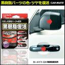 黒樹脂復活剤 カーメイト C24 黒樹脂復活剤 クリーナー 樹脂 洗車 お手入れ用品 経年