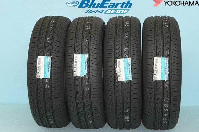 YOKOHAMA BluEarth AE-01Fヨコハマ ブルーアース AE01F 185/55R16 83V 4本セット 4本セット!! 送料無料!!