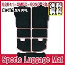 [送料無料][メーカー取り寄せ]MUGEN(無限)Sports Luggage Mat / スポーツラゲージマット 品番:08P11-XMDC-K0S0-RD