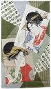 のれん 暖簾 浮世絵のれん「高名美人」【IT】サイズ:85×150cm(#9893156)和風 レースのれん 美人画 高名美人六家撰 喜多川歌麿 お土産 間仕切り 目隠し 日よけ