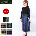 (初売りセール) O'NEIL OF DUBLIN オニールオブダブリン パッチワーク スカート ウール ロング丈 ラップスカート 73cm ロング レディース 124 キルト 巻きスカート オニール オブ ダブリン