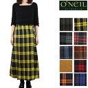 (初売りセール) O'NEIL OF DUBLIN オニールオブダブリン スカート ウール100% ロング丈 前プリーツ ラップスカート 81cm ロング レディース キルト 巻きスカート オニール オブ ダブリン