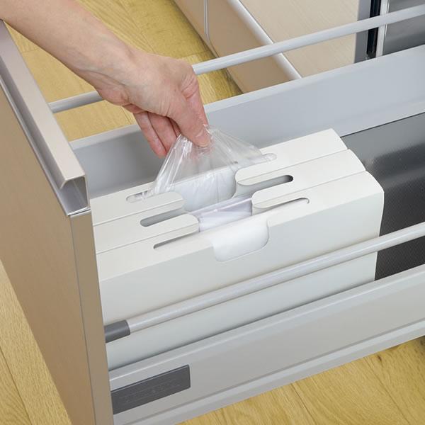 キッチン システムキッチン 引き出し 収納 : システムキッチン収納トトノ ...
