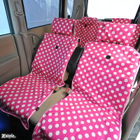 Z-styleポルカドット水玉シートカバー全席セット10