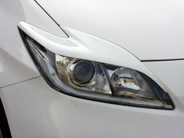 NSスタイル アイライン 左右セットプリウス 後期 HID用 ZVW30 H23.12〜純正カラー塗装済み(※ハロゲン、LEDヘッドライトは取付不可)