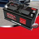 MOLL モル バッテリー【M3plus K2】■ルノー/RENAULT メガーヌ MEGANE/E-AF7RD2【M83046】最高レベルのプレミアムスターターバッテリーMOLL battery/2年保証