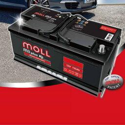 MOLL モル バッテリー【M3plus K2】■シトロエン/CITROEN/ヴィサ(VISA)/E-VDB1【M83046】最高レベルのプレミアムスターターバッテリーMOLL battery/2年保証
