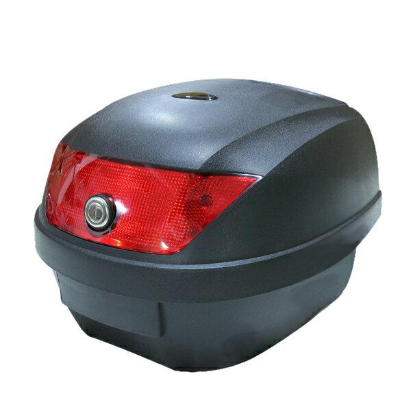 送料無料リアボックストップケースバイクボックス黒着脱可能式取手付28リットル28L大容量原付フルフェ