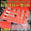 【送料無料】 17pcベアリング レースシール ドライバーセット 【10mm 11mm 12mm 1...